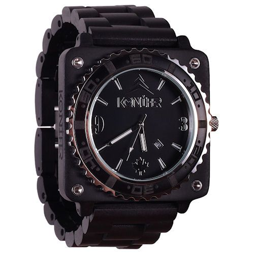 Montre Konifer Arirondack Black chez Octeau Joaillier et Horloger