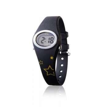 DW1-NIBL octeau joaillier montre enfant digital bfly noir